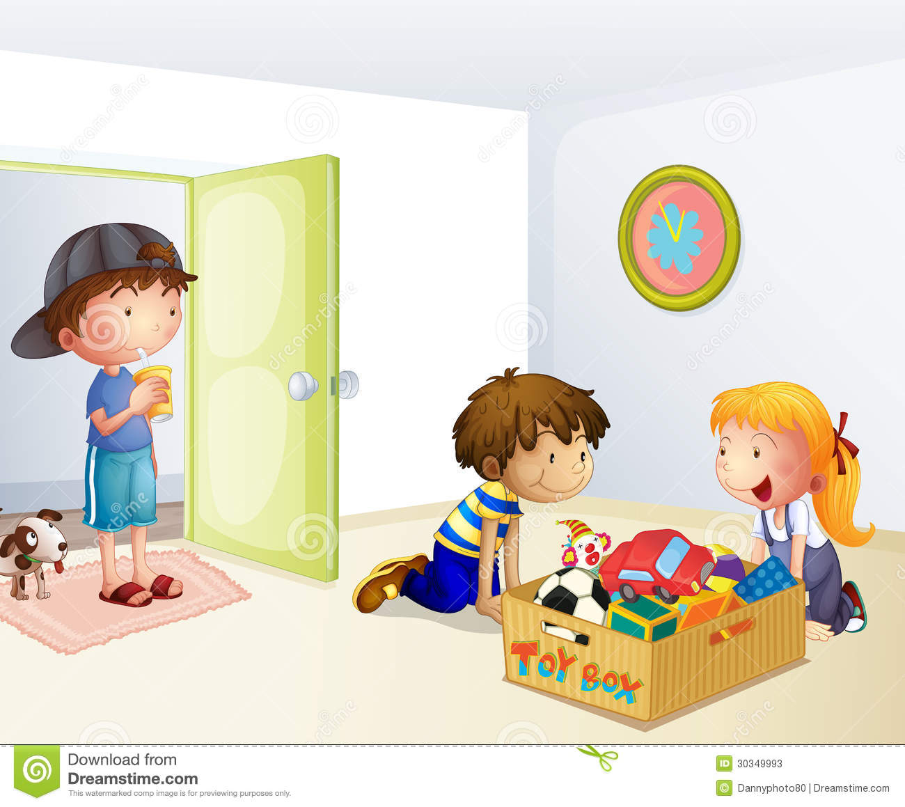 Clean up toys clipart 11 » Clipart Station