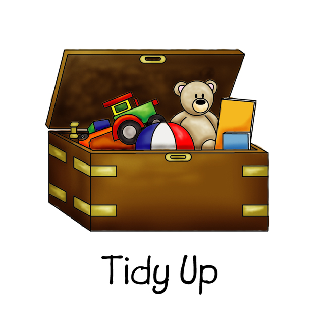 Messy Room Garbage: Clean Up Toys Clipart 4 » Clipart Station