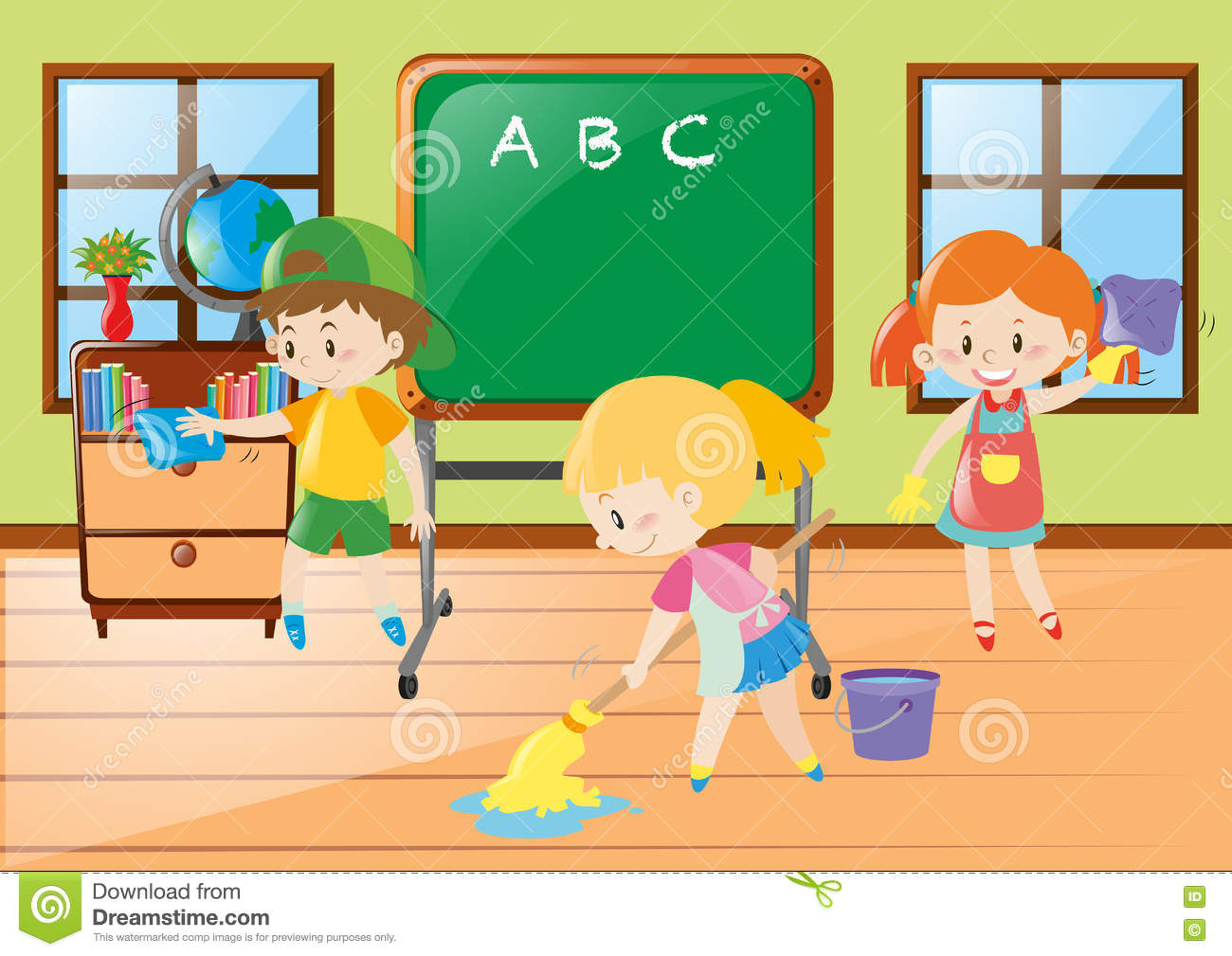 cleaning the classroom clipart 4 clipart station rh clipartstation com classroom clipart images classroom clipart black and white