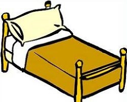 clipart bed