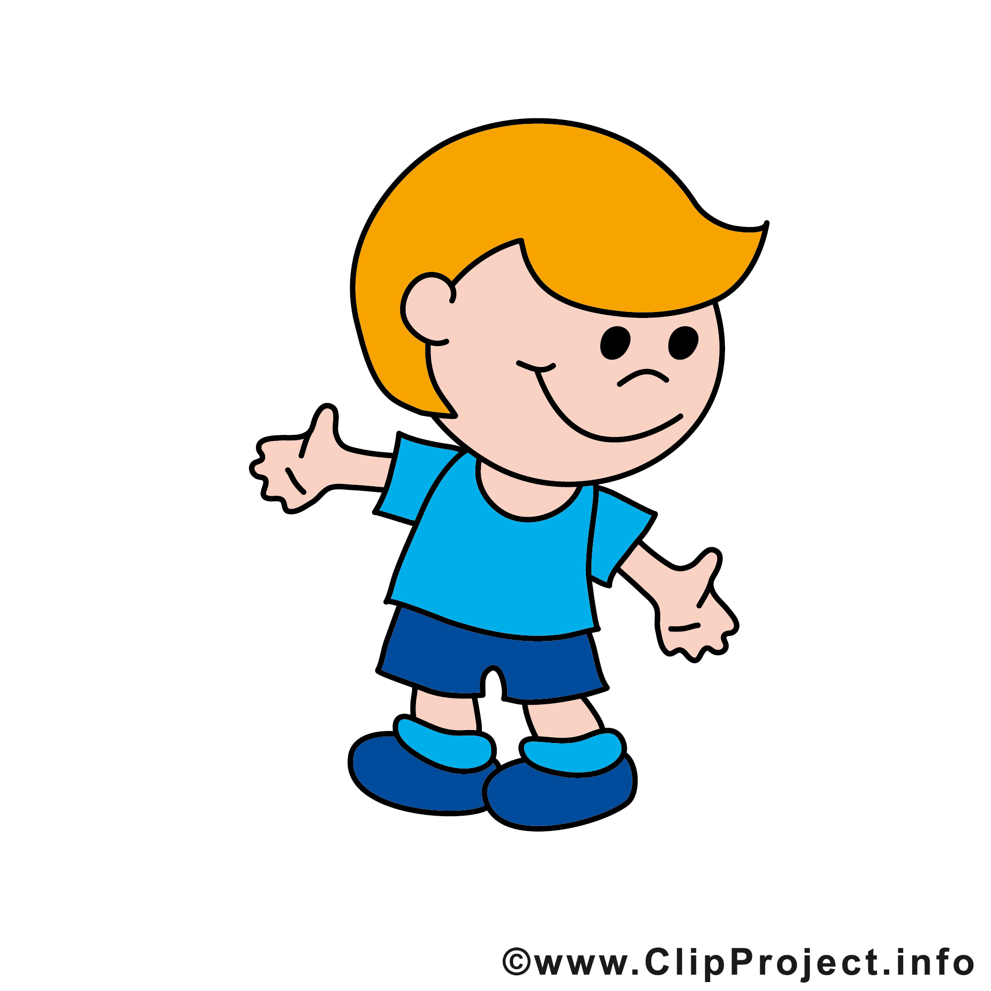 clipart junge 5 » clipart station