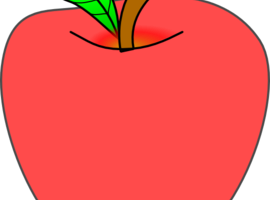 clipart of apple 2