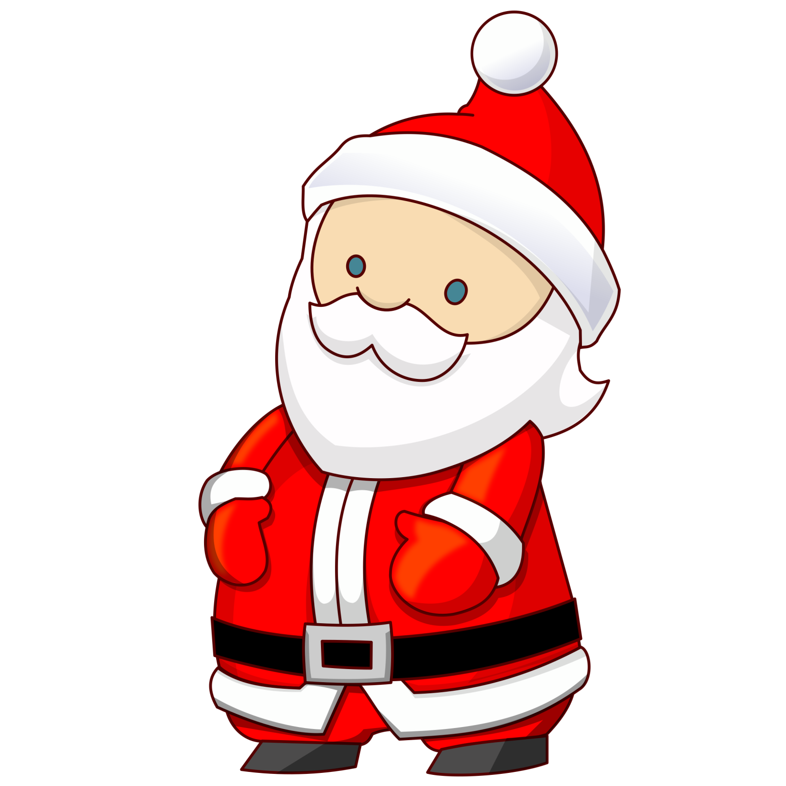 Clipart Pere Noel 4 Clipart Station