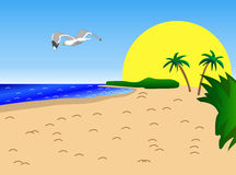 Clipart Plage 2 Clipart Station