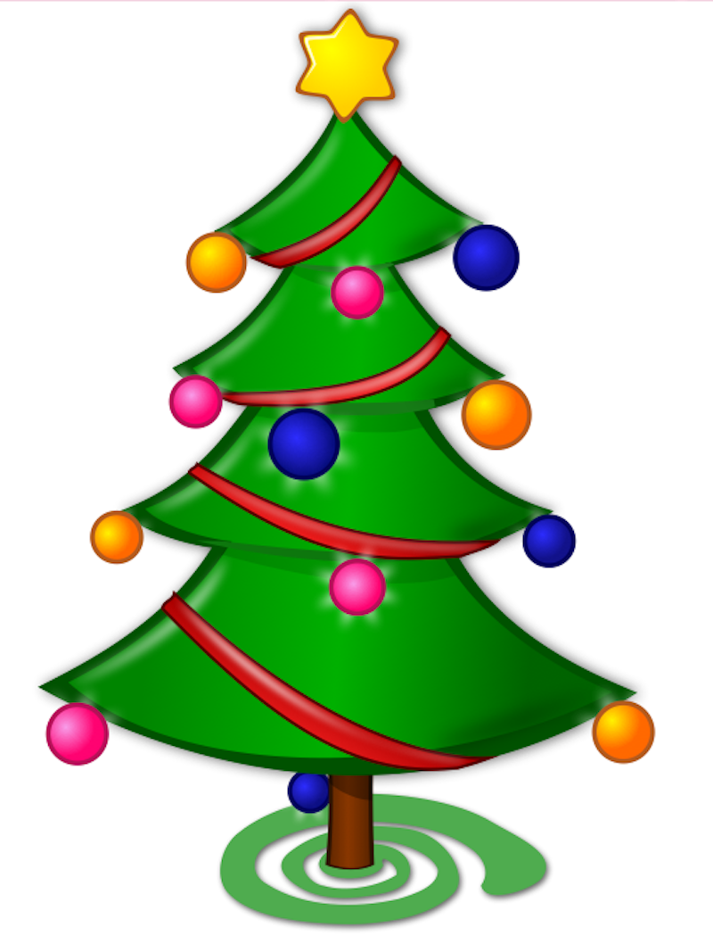 Clipart Sapin Noel 3 Clipart Station