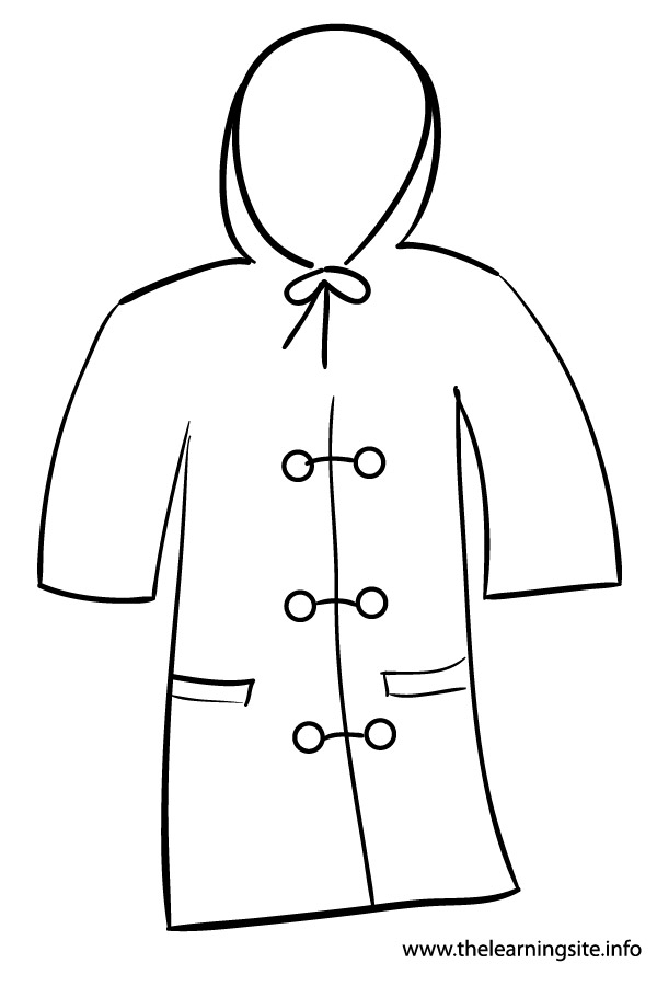 coat clipart black and white 7 187 clipart station