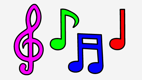 Image result for music note clipart