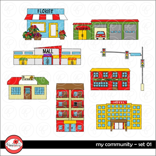 Community places clipart 6 » Clipart Station