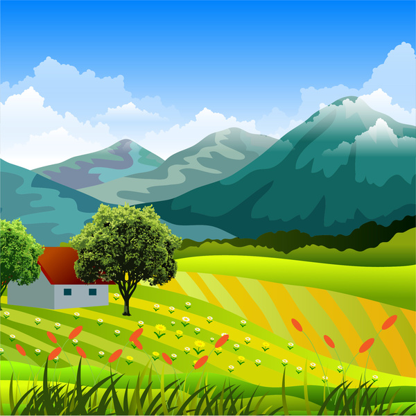 Countryside clipart 8 » Clipart Station