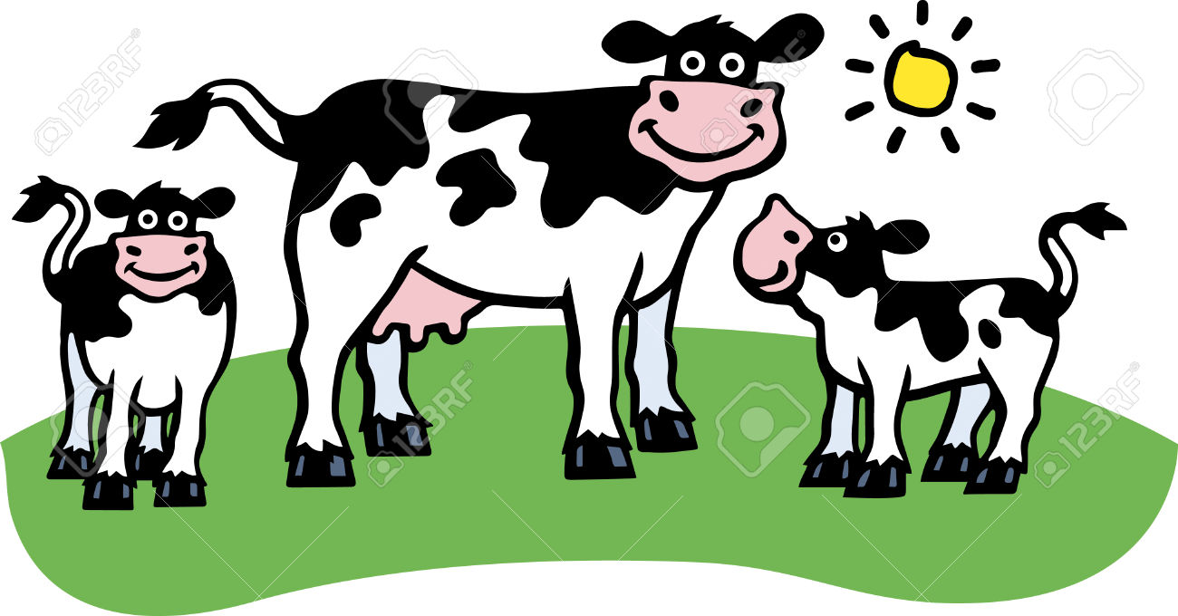 cow and calf clipart 6 | Clipart Station for Cow And Calf Clipart  75tgx