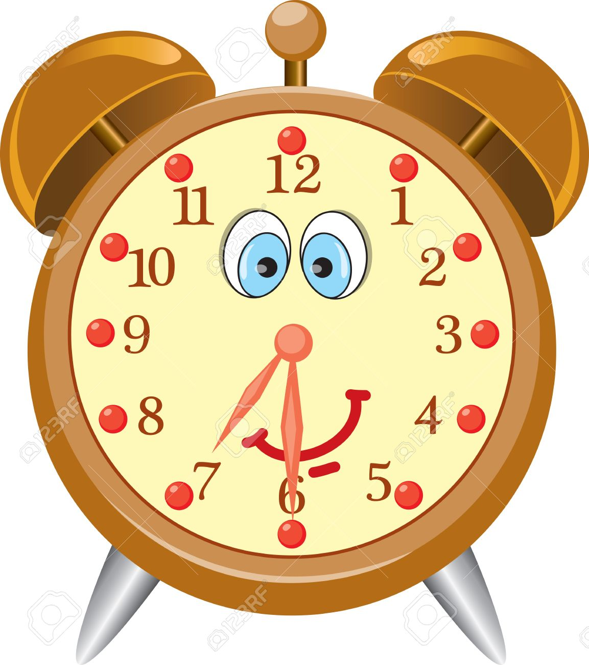 Cute alarm clock clipart 4 » Clipart Station