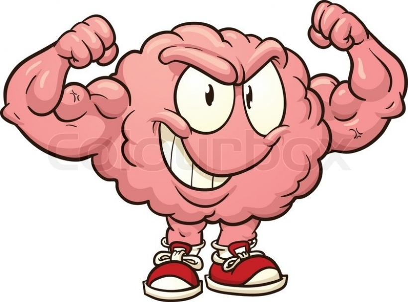 cute brain clipart cute brain clipart strong cartoon brain vector rh clipartstation com