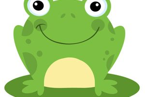 cute frog clipart 4
