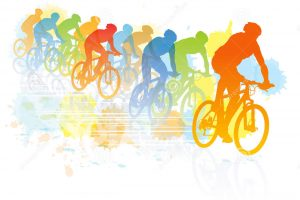 cycle race clipart 4