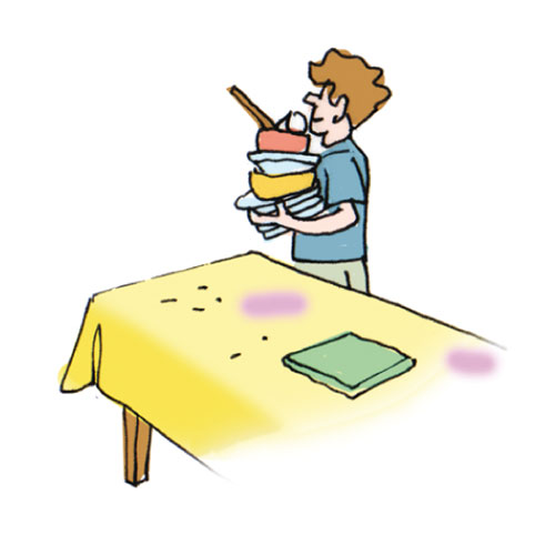 D barrasser la table clipart 6 clipart station - Debarrasser la table en anglais ...
