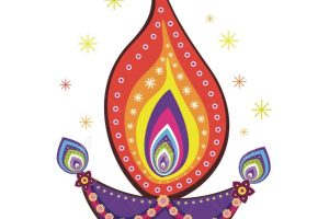 Deepavali Oil Lamp Clipart 4