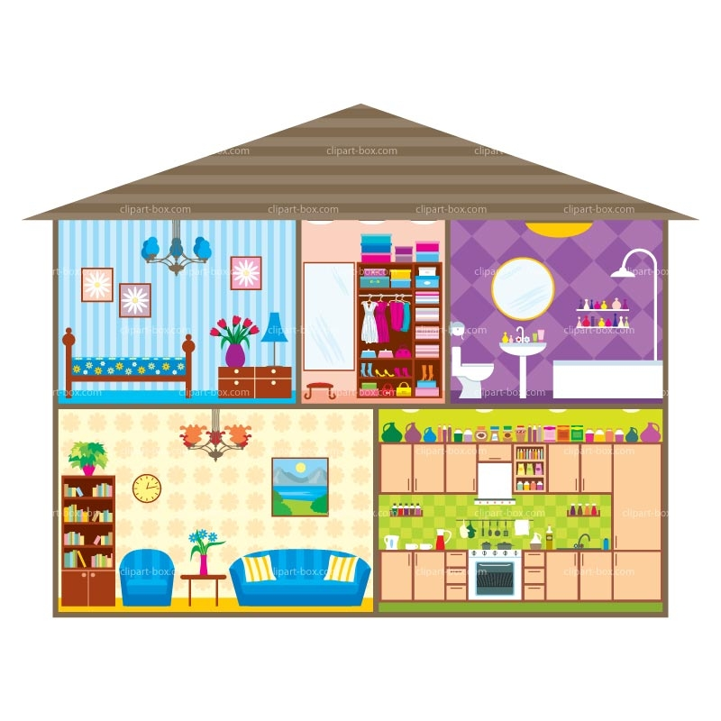 Different Parts Of The House Clipart 2 Clipart Station