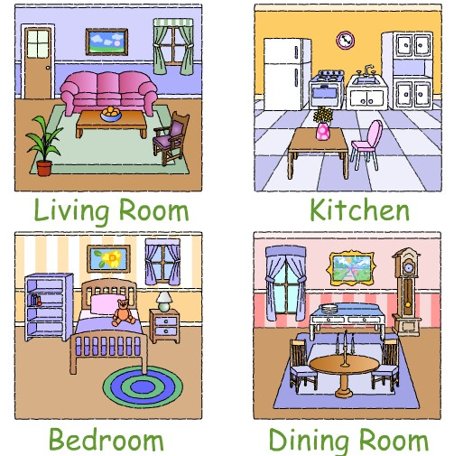 Different Parts Of The House Clipart 3 » Clipart Station