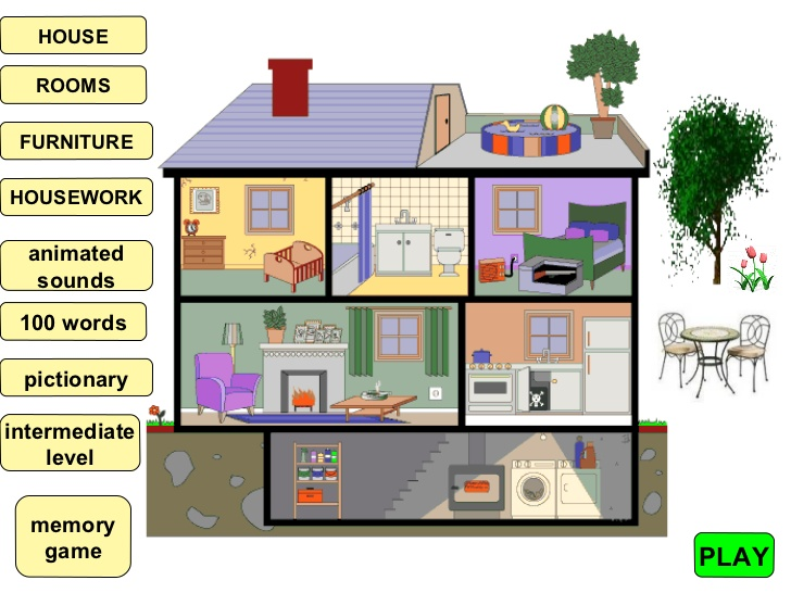 Different Parts Of The House Clipart 6 187 Clipart Station