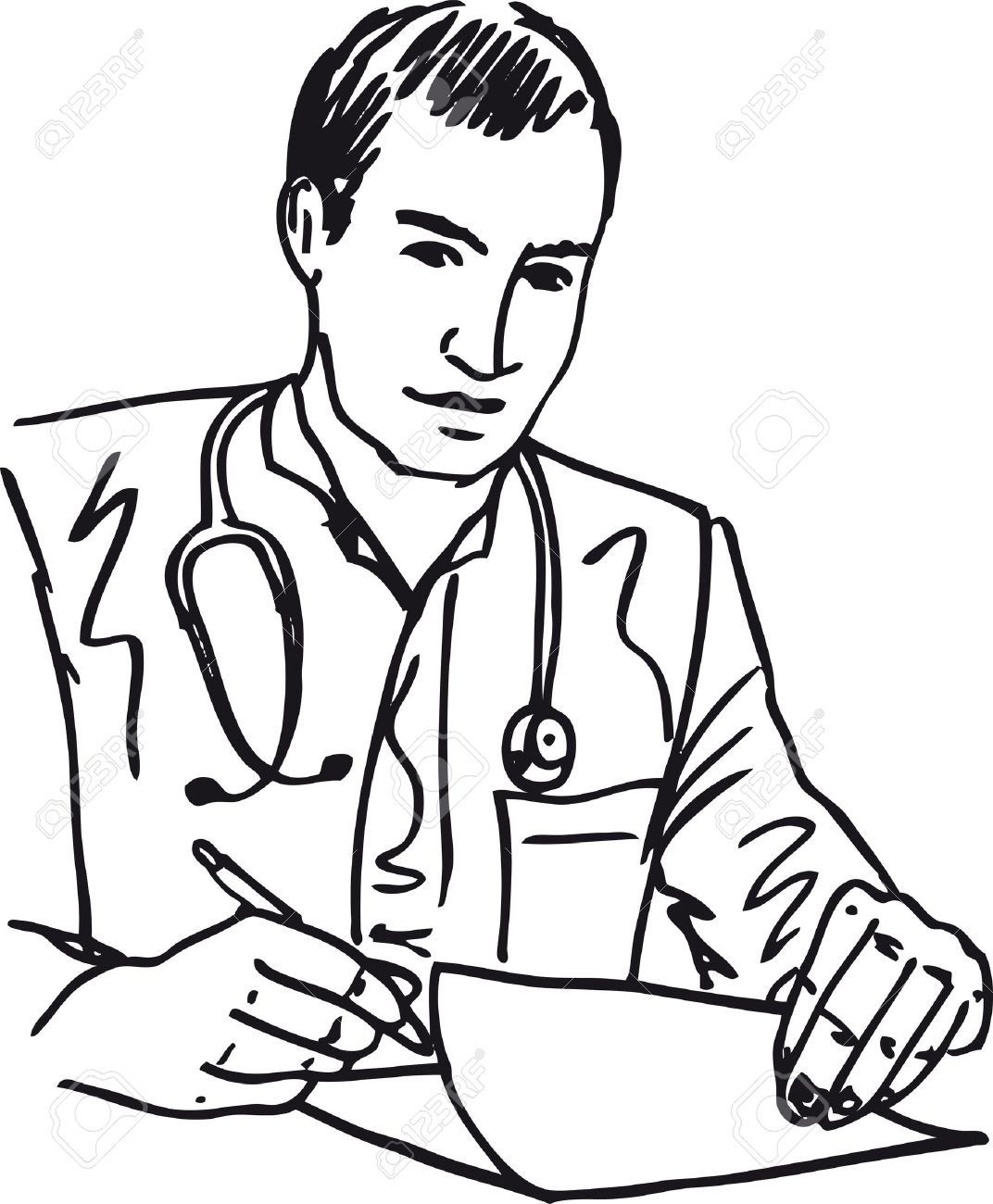 doctor clipart black and white 2 clipart station rh clipartstation com female doctor clipart black and white doctor tools clipart black and white