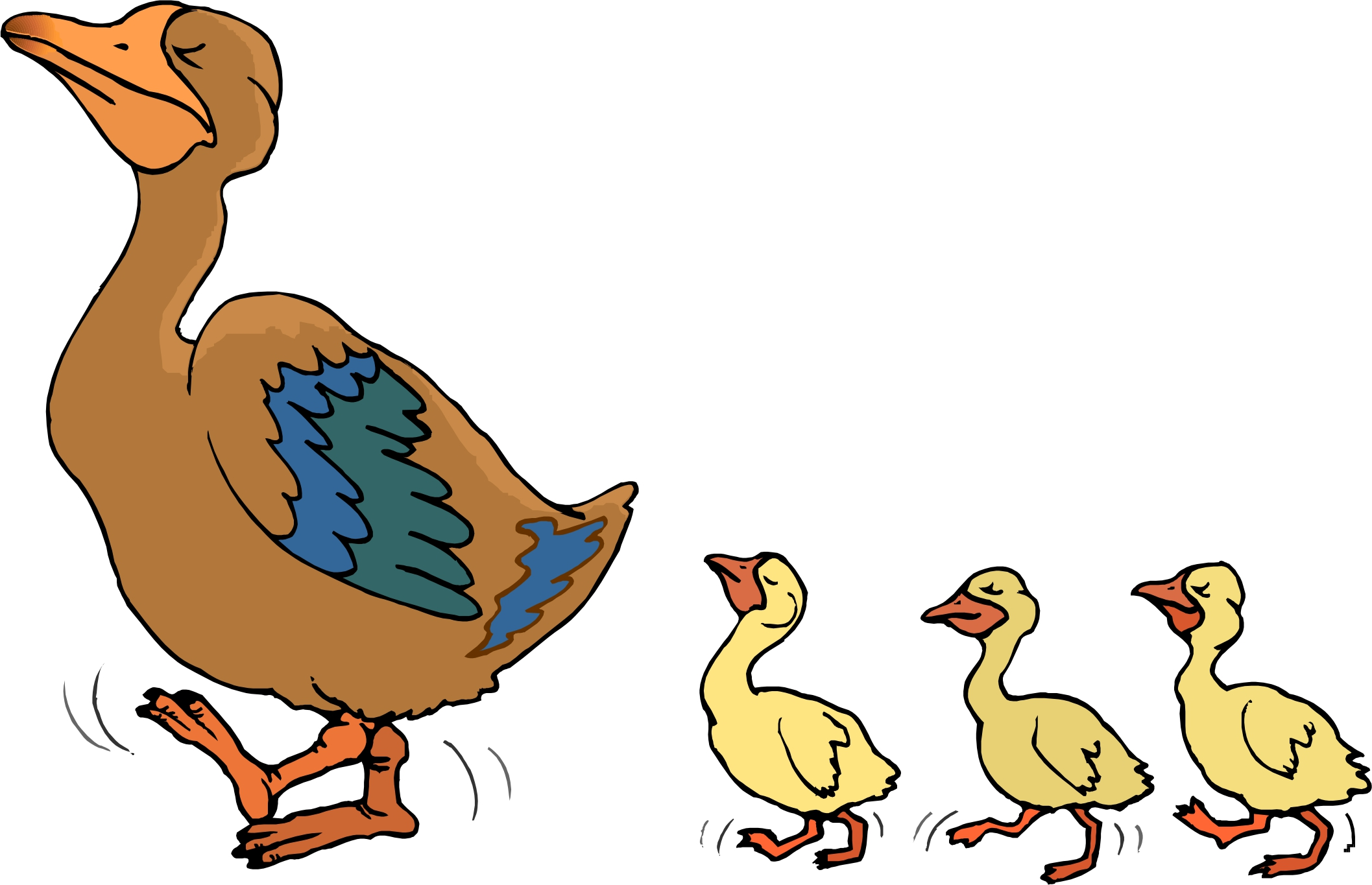 duck and duckling clipart 11 | Clipart Station for Duck And Duckling Clipart  56bof