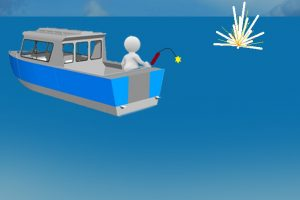 dynamite fishing clipart 2