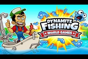 dynamite fishing clipart
