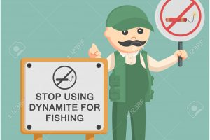dynamite fishing clipart 4