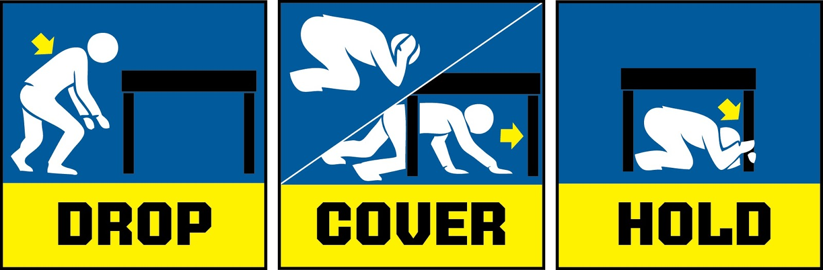 Earthquake Safety Clipart