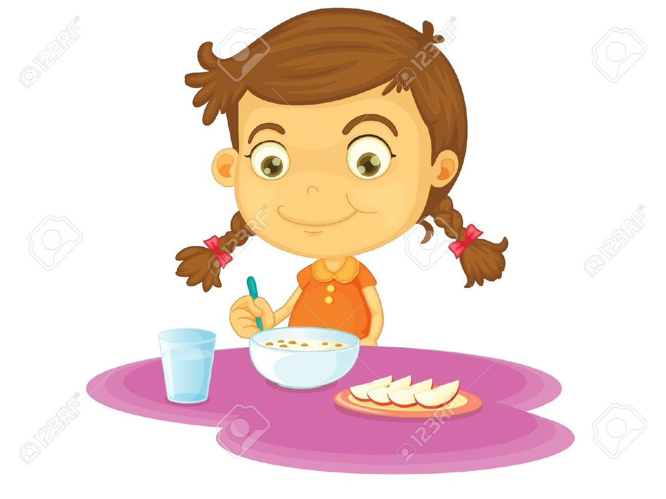 Eat breakfast clipart 12 » Clipart Station