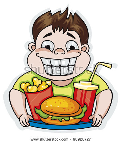 Eating junk food clipart 8 » Clipart Station