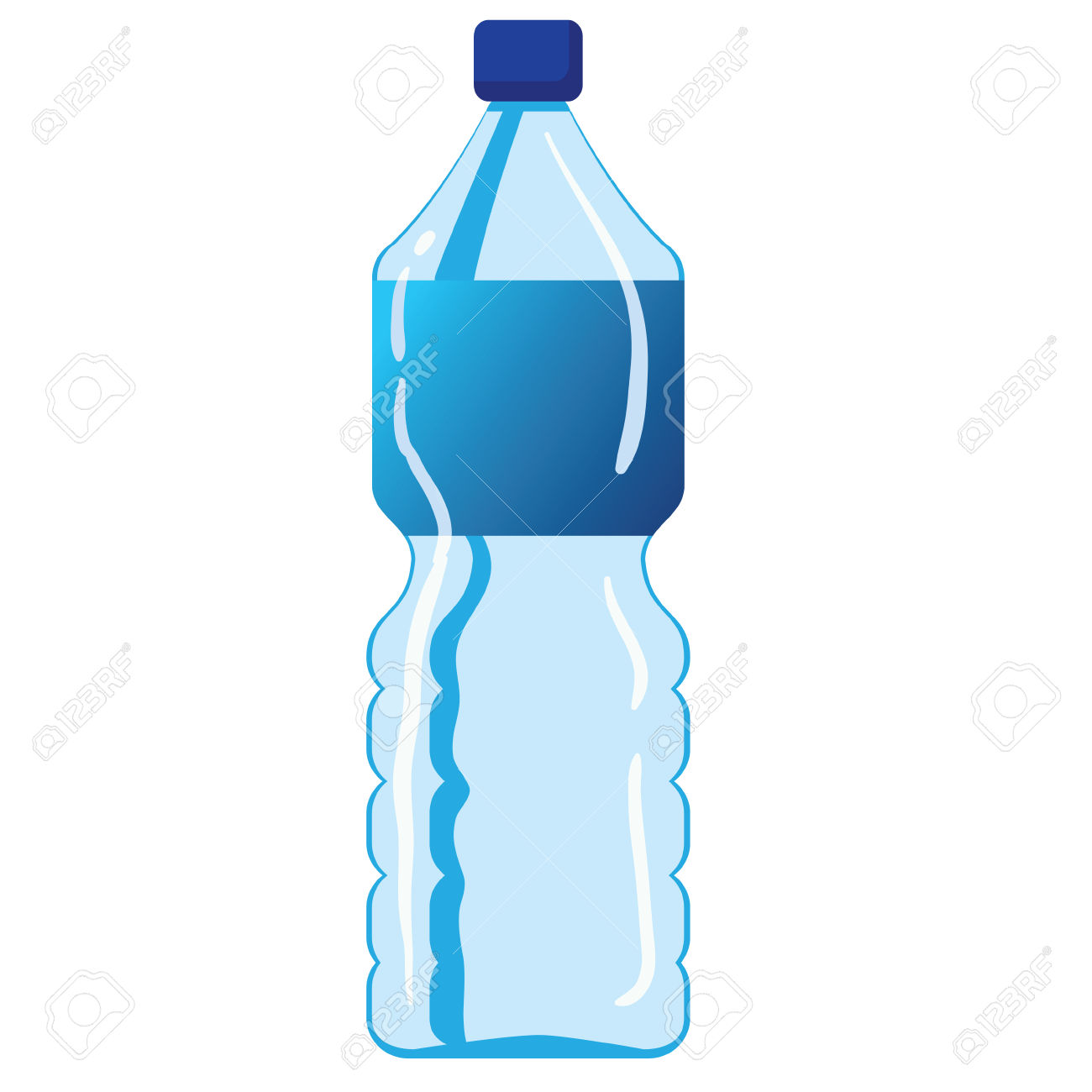 Water Bottle Graphic: Mineral Water Bottle » Clipart Station