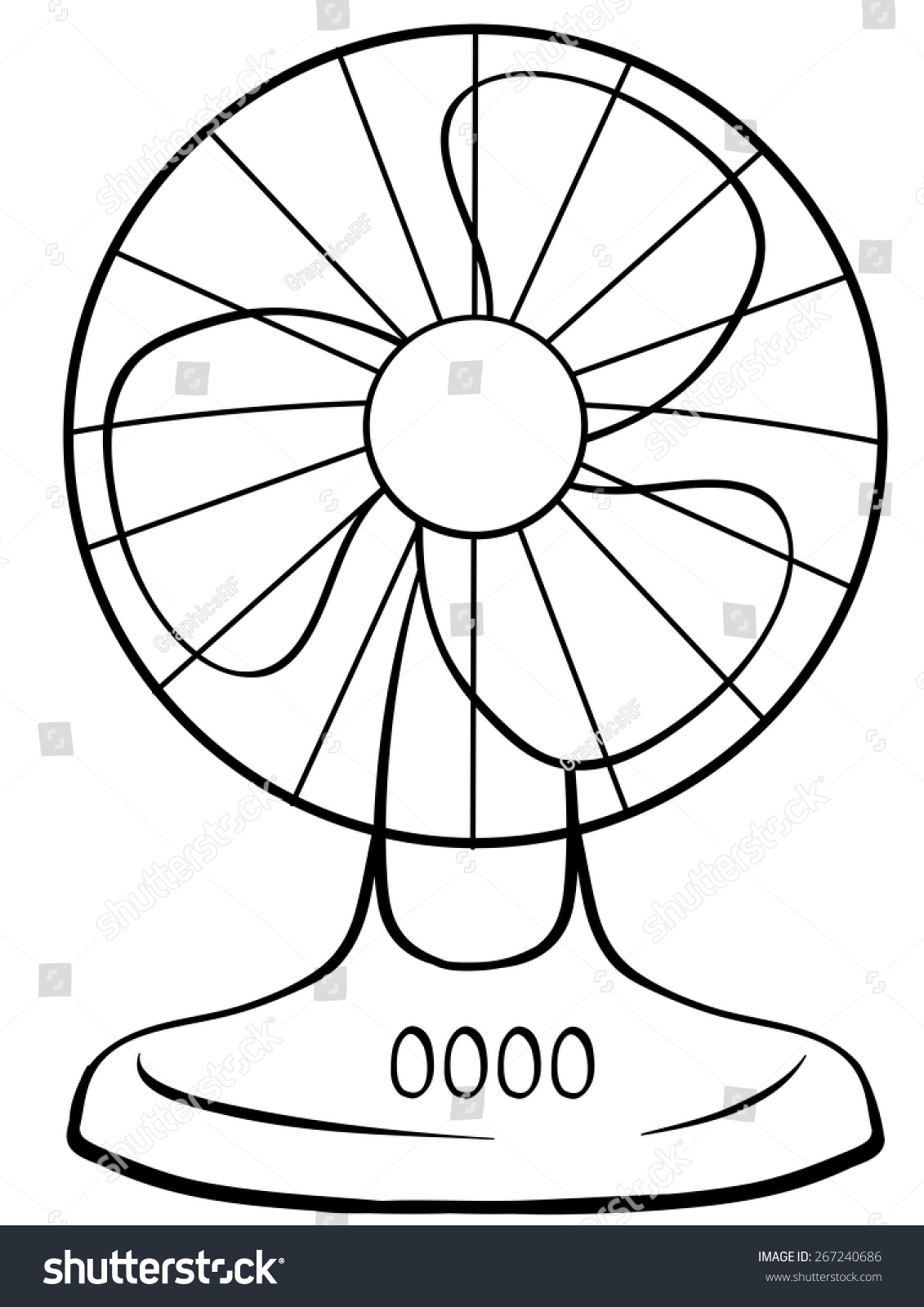 electric fan clipart black and white 6 | Clipart Station for Fan Clipart Black And White  54lyp
