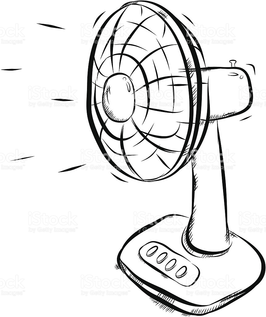 electric fan clipart black and white 8 | Clipart Station for Fan Clipart Black And White  58cpg