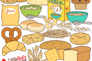 examples of go foods clipart 1