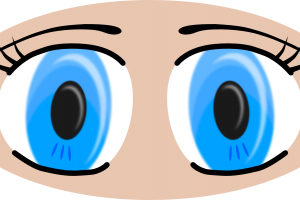 eyes looking clipart 3