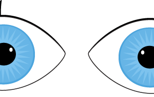 eyes looking clipart 4