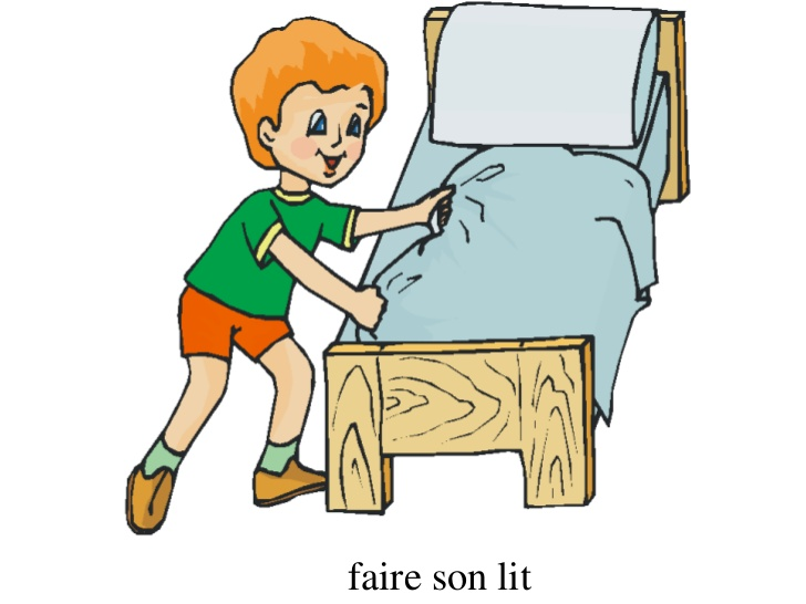 faire son lit clipart 3 clipart station. Black Bedroom Furniture Sets. Home Design Ideas