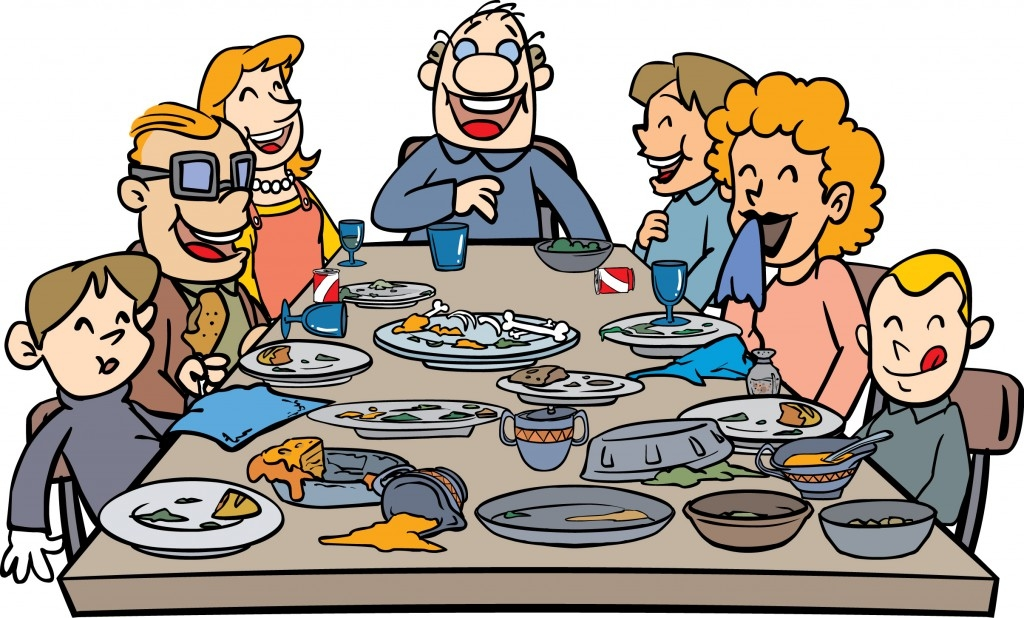 Picture Of Family Eating Together Clipart Familyscopes