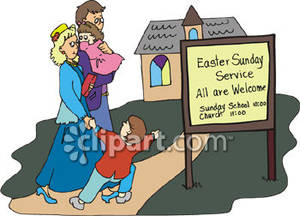 Family Going To Church Clipart 4 Clipart Station