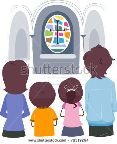 Family Going To Church Together Clipart 6 Clipart Station
