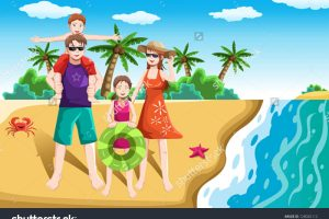 Family Going To Park Clipart 13