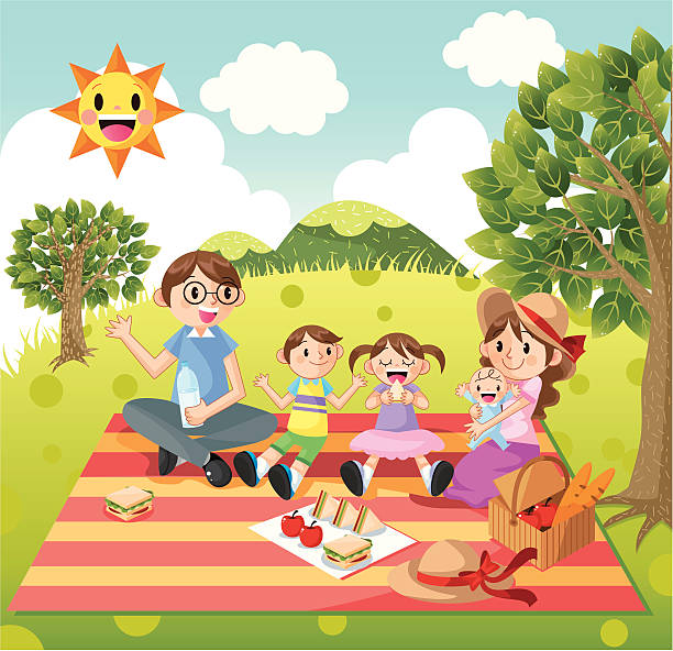 family picnic clipart 5 clipart station rh clipartstation com family picnic clip art free family having a picnic clipart