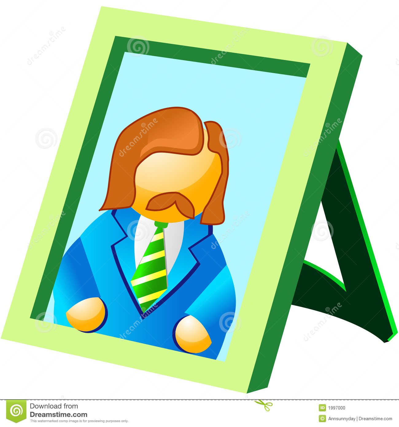 Family Picture Frame Clipart 10