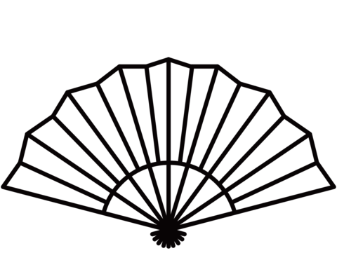 fan clipart black and white 1 | Clipart Station