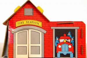 fire station building clipart 2