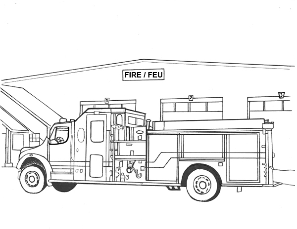 Fire station clipart black and white 3 » Clipart Station
