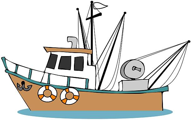 Fisherman In Boat Clipart Clipart Station