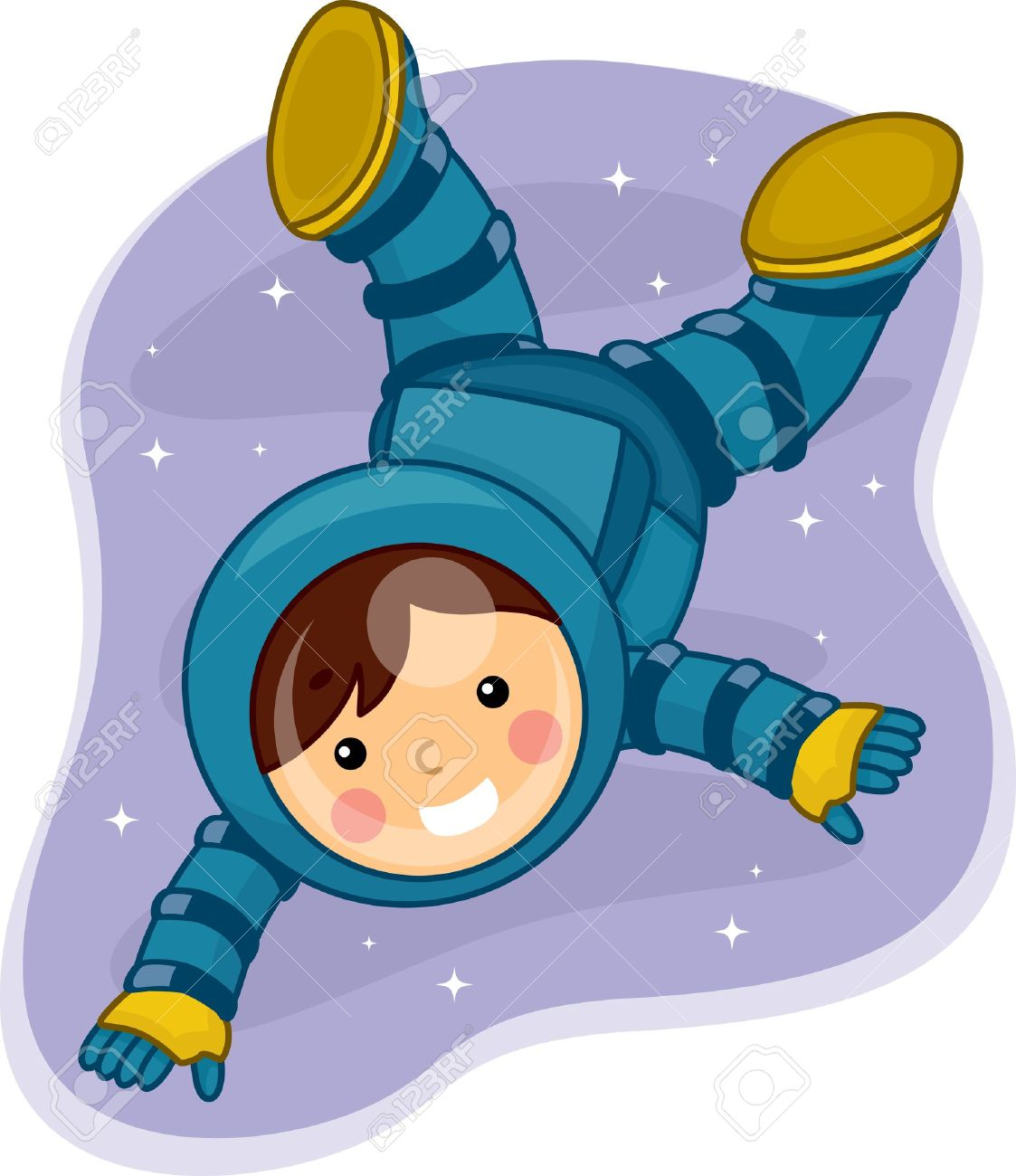 astronaut floating in space clipart - photo #34
