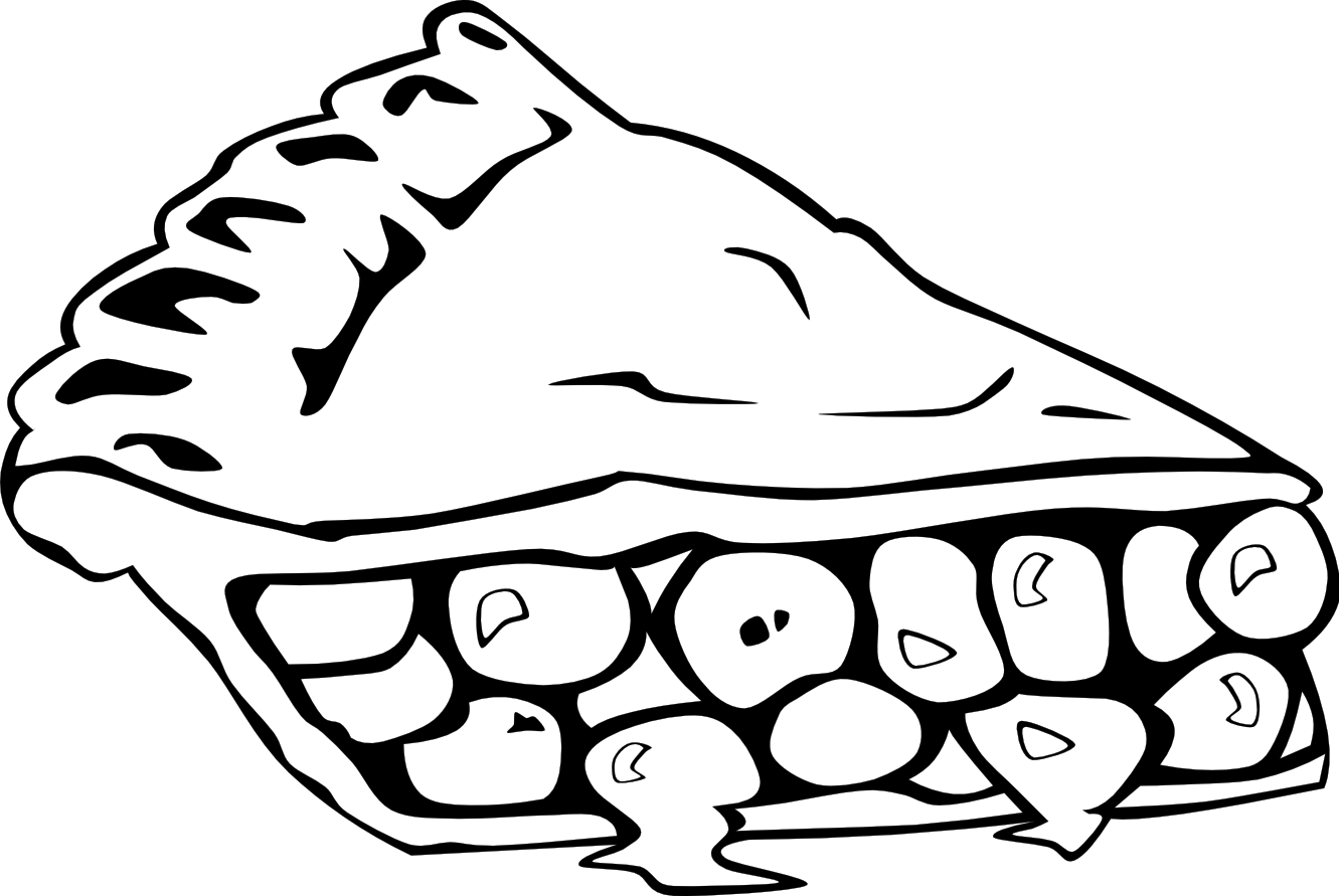 Food clipart black and white 2 clipart station